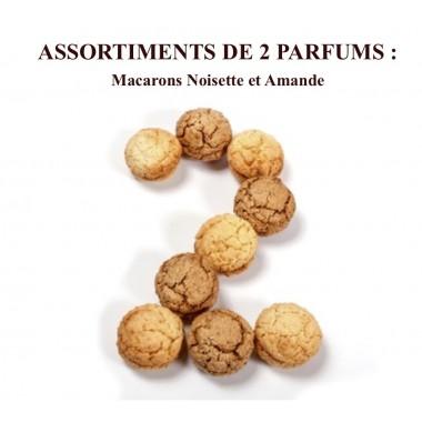 Macarons Noisette et Amande Coffret 18 pièces