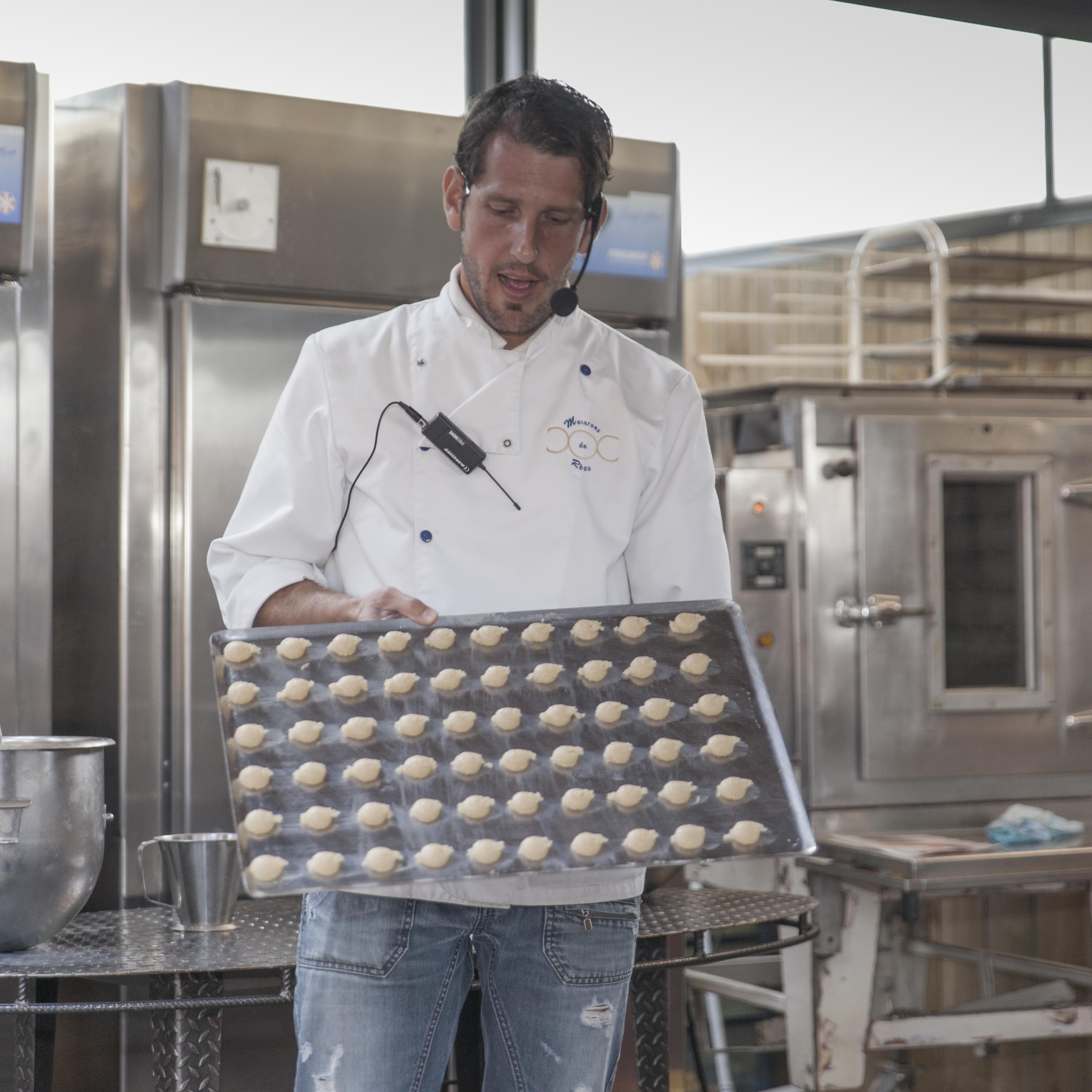 Fabrication Macarons de Réau